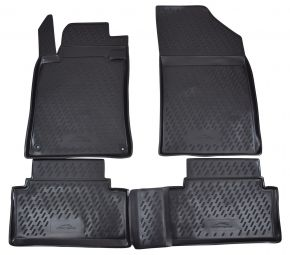 Tapis de voiture PEUGEOT 508  02/2012-up  4 pcs