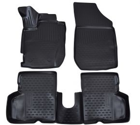 Tapis de voiture RENAULT Captur  2013-up  4 pcs