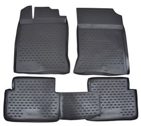 Tapis de voiture RENAULT Scenic III 06/2010-up  3 pcs