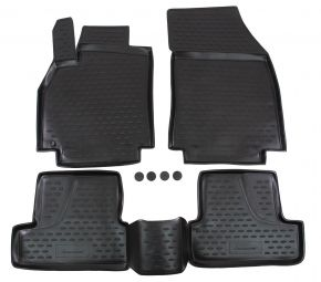 Tapis de voiture RENAULT Megane IV 2016-up 4pcs