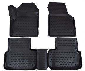 Tapis de voiture LAND ROVER Discovery Sport  2014-up  4 pcs