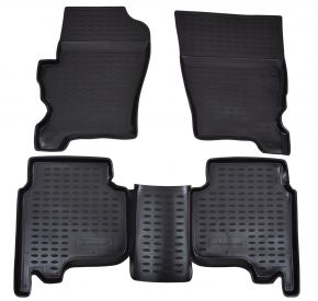 Tapis de voiture LAND ROVER Discovery 3 /4  2004-2016  4 pcs