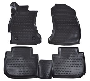 Tapis de voiture SUBARU Forester  2013-up 4 pcs