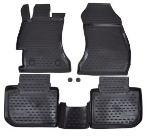 Tapis de voiture SUBARU XV  2012-up 4 pcs