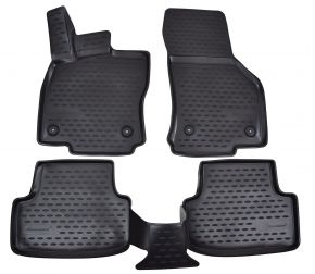 Tapis de voiture SEAT Leon  2012-up  4 pcs