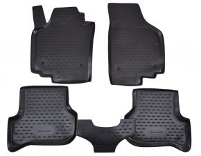 Tapis de voiture SEAT Altea 2005-2009   4 pcs