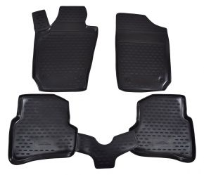 Tapis de voiture SEAT Ibiza 2008-up 4 pcs