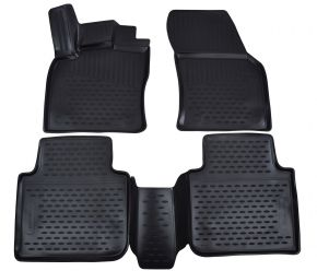 Tapis de voiture SKODA Kodiaq  2016-up  4 pcs