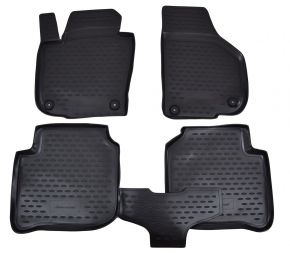 Tapis de voiture SKODA Superb 2009-2014  4 pcs