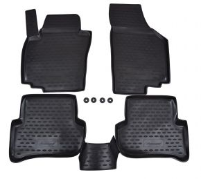 Tapis de voiture SKODA Yeti  2009-up  4 pcs