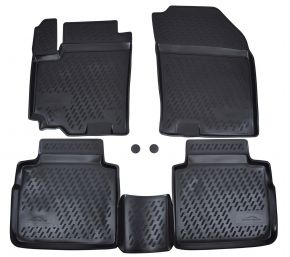 Tapis de voiture SUZUKI SX-4  2013-up  4 pcs