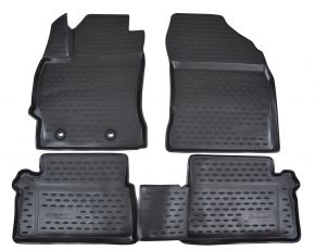 Tapis de voiture TOYOTA Auris 2013-up  4 pcs