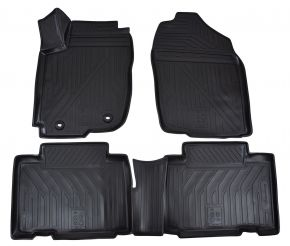 Tapis de voiture TOYOTA Rav 4  2013-2015  2015-up  4 pcs