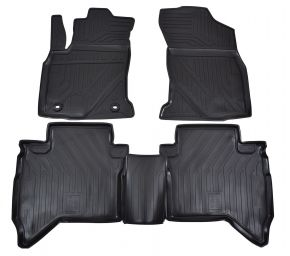 Tapis de voiture TOYOTA Hilux 2015-up  4 pcs
