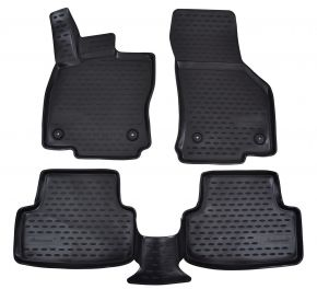 Tapis de voiture VW Golf VII  2013-up 4 pcs