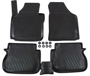 Tapis de voiture VW Caddy  2015-up  4 pcs
