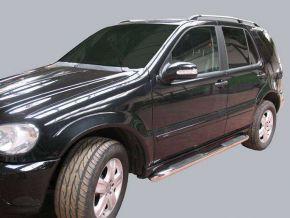Cadres latéraux pour voiture Mercedes ML-Class W163 1998-2005 5D.