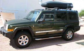 Cadres latéraux pour voiture Jeep Commander 2006-2010