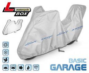 Toile pour moto BASIC GARAGE 215-240 cm + coffre voiture