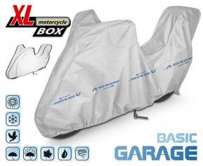 Toile pour moto BASIC GARAGE 240-265 cm + coffre voiture