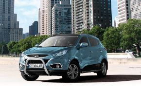 Cadres avant Steeler pour Hyundai ix35 2010-2013-2015 Modèle U