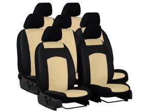 Housse de siège de voiture sur mesure Cuir AUDI Q7 II 7p. (2015-2020)