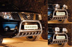 Cadres avant Steeler pour Nissan Navara 2005-2010 Modèle G