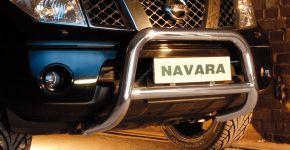 Cadres avant Steeler pour Nissan Navara 2005-2010 Modèle A