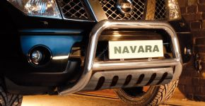 Cadres avant Steeler pour Nissan Navara 2005-2010 Modèle S