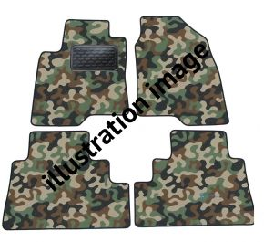 Army car mats BMW E38 7 Series  1994-2001 4ks