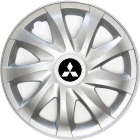 """Enjoliveurs pour Mitsubishi 14"""" Draco, 4 pcs"""