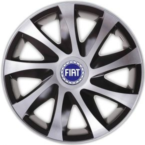 "Enjoliveurs pour FIAT BLUE 13"", DRACO CS 4pcs"