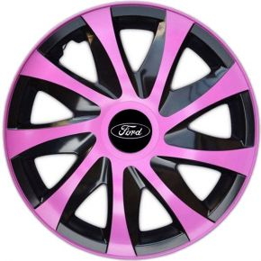 "Enjoliveurs pour FORD 14"", DRACO ROSES 4 pcs"
