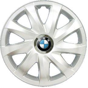 """Enjoliveurs pour BMW 14"""", DRIFT GRIS LAQUÉS 4 pcs"""