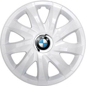 """Enjoliveurs pour BMW 15"""", DRIFT BLANCS LAQUÉS 4 pcs"""