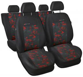 Housse de siège universelle Elegance rouge