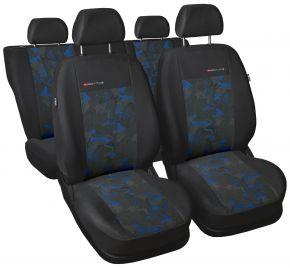 Housse de siège universelle Elegance bleu