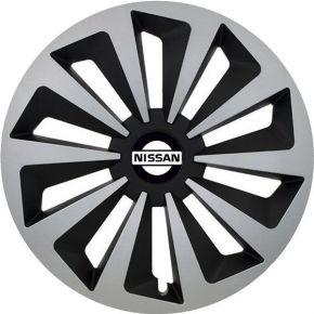 """Enjoliveurs pour Nissan 14"""", Fox, 4 pcs"""