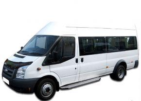 Déflecteurs de capot pour FORD Transit 2006-2013