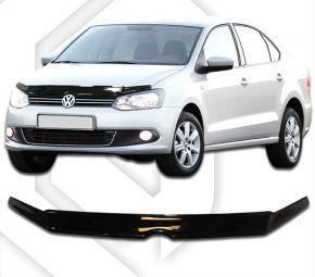 Déflecteurs de capot pour VOLKSWAGEN Polo hatchback 3D 2010–2015