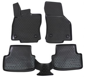 Tapis de voiture AUDI A3 (8V) 2012-up Htb  4 pcs