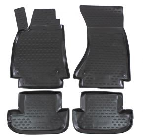 Tapis de voiture AUDI A5 2007-up  4 pcs
