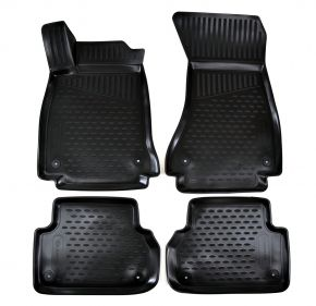 Tapis de voiture AUDI A4 B9 2016-up 4 pcs