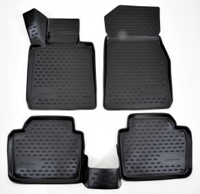Tapis de voiture BMW 3-serie F30  2012-up 4 pcs