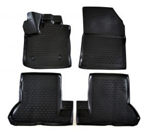 Tapis de voiture DACIA DOKKER 2018-up 4 pcs