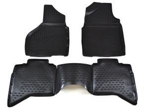 Tapis de voiture DODGE RAM 1500/2500/3500 2012-2018 USA 4 pcs