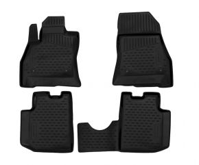 Tapis de voiture FIAT 500L 2013-up 4 pcs