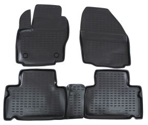Tapis de voiture FORD FORD S-MAX 2006-up 4 pcs