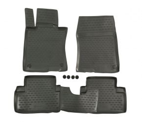 Tapis de voiture HONDA ACCORD 2008-2013, 4 pcs