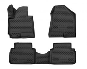 Tapis de voiture HYUNDAI ix35 2010-up, 4 pcs